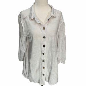 Neon Buddah💮White Jacket Blazer Shirt S